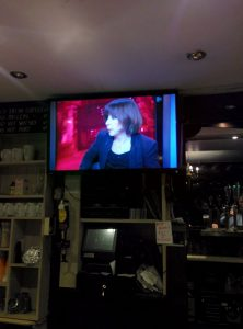 The time I was on TV in the pub.